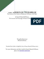 Imam Ahmad Al-Hassan Yamani (PBUH) - Sermon of Muharram