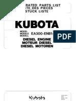 Motor Kubota Ea300 Enb1 1