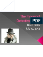 The Financial Detective, 2005