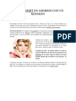 Taylor Swift en Amorios Con Un Kennedy