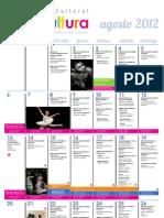Agenda Cultural de Lima Agosto 2012