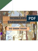 Marketing Environment Go Green