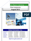 Aerospace Market Report Catalog - August 2012