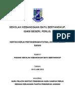Kertas Kerja Futsal Siap