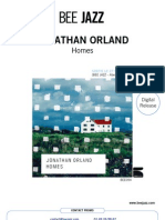 "Press Release of Jonathan Orland's album ""Homes"" (BEE054)"