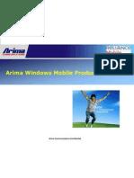 Arima Windows Mobile Roadmap