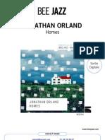 "Communiqué de presse de "" Homes "" de Jonathan Orland (BEE053)"