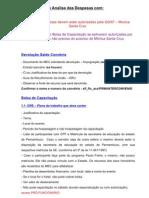 Requisitos Para Analise Das Despesas-Denise1