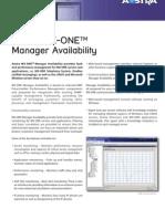 Datasheet MX-OnE Manager Availability En