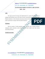 Design of a GSMGPRS-Based Mobile Patient-Care System---IEEE2011