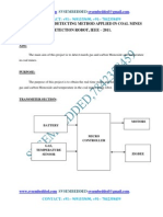 Hazardous Gas Detecting Method Applied in Coal Mine Detection Robot---IEEE2011