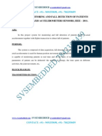 System for Monitoring and Fall Detection of Patients---IEEE2011