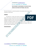 The Temperature Humidity Monitoring System of Soil Based on Wireless Sensor Networks---ieee2011