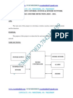 Wireless Security Control System & Sensor Network for Smoke & Fire Detection--IEEE2011