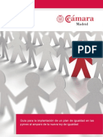 Guía para la implantación de un plan de igualdad en las pymes al amparo de la nueva ley de igualdad