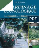 Le jardinage éconologique
