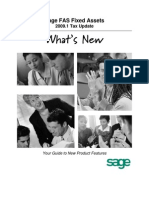 20091 FAS Whats New TAX