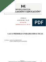 11 unidades Didácticas para educación infantil