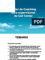 Coaching Para Supervisores de Call Center