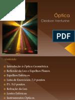 Óptica - Profº Cleidson Venturini