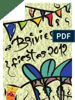 Programa Oficial Fiestas de Briviesca 2012