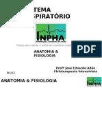 Anatomia, Fisiologia, IRpA & Ventilação Mecânica