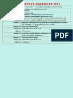 Vaishnava Kalender Augustus 2012