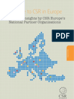 CSR in Europe, Country Insights