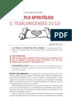 05 El ejemplo apostólico