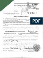 Portland FBI Raid Documents