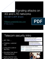 Telecom Signalling Attacks - SS7 to All IP