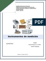 Instrumento de medición