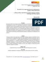 El estudio de la comprensión lectora en América Latina - desafíos y futuras direcciones