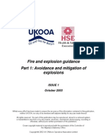 Ukooa Fire and Explosion Guidance