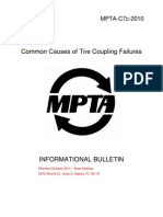Common Causes of Tire Coupling Failures