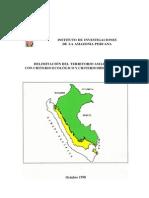 Delimitacion Amazonia