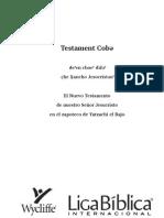 Bible in Zapotec, Yatzachi
