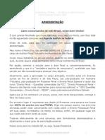 Aula 32 - Direito Processual Penal - Aula 01