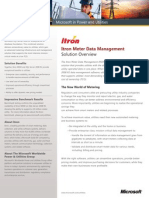 Itron Meter Data Management With Microsoft