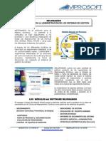 Catalogo-mejoramiso Software Para El Sistema de Gestion