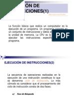 EJECUCIÓN DE INSTRUCCIONES