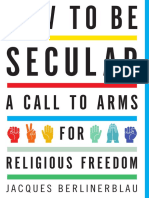 How to Be Secular by Jacques Berlinerblau