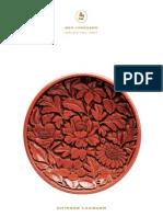 Chinese art catalogue