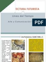 ARQUITECTURA FUTURISTA-LÍNEA DEL TIEMPO