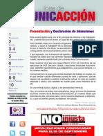 ComunicAccion N1_agosto 2012