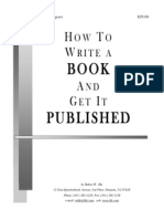 How to Write a Book and Get It Published