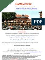 Sangamam 2012 Final Invite