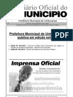 Concurso Municipal Umburanas Bahia
