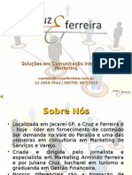Apresentação - Cruz e Ferreira