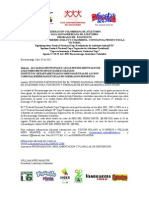 Invitacion Nacional Copa Freskaleche 2012